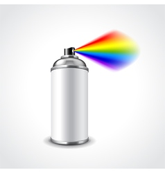 Graffiti spray can vector image