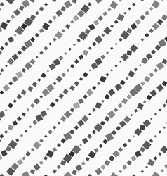 Textured with random squares diagonal lines vector image
