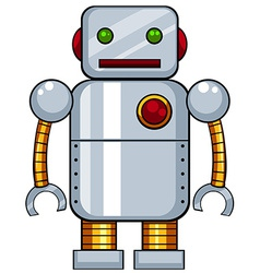 Toy robot vector image vector image