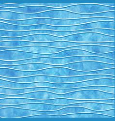 watercolor wavy lines vector image vector image
