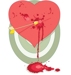 Splatter love vector