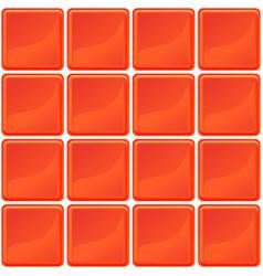 Orange tiles texture seamless vector