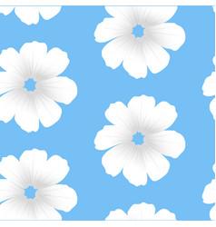 white flowers seamless white flowers seamless vector image