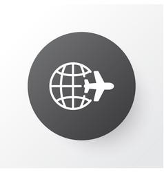 world travel icon symbol premium quality isolated vector image