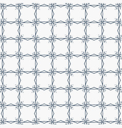 Modern line pattern in square shape background vector