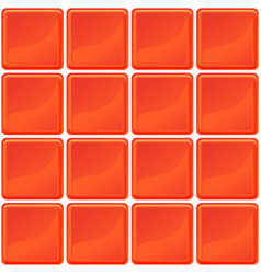 Orange tiles texture seamless vector
