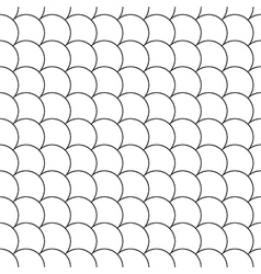 simple seamless pattern diagonal fish scales vector image vector image