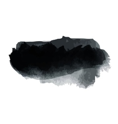 Black blot vector