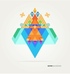 Nature of geometric elements vector