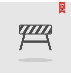 Roadblocks icon Flat vector image