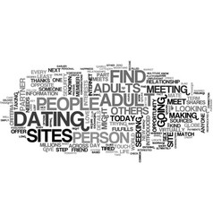 A platform for adults to date text word cloud vector