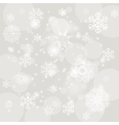 Abstract winter snow background vector