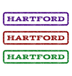 hartford watermark stamp vector image