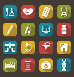 Medical Elements and Objects vector image vector image