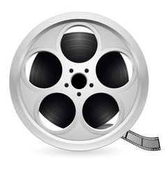reel of film vector image vector image