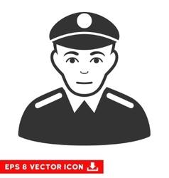 Soldier eps icon vector