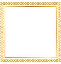 Spica gold frame vector