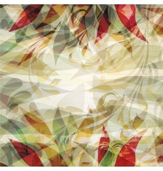 Beautiful floral background texture vector image