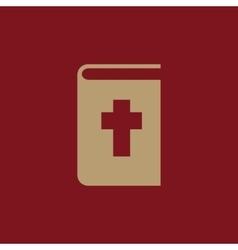 Bible icon design Religion Bible symbol vector image vector image