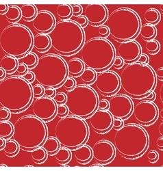 Circle geometric seamless pattern vector