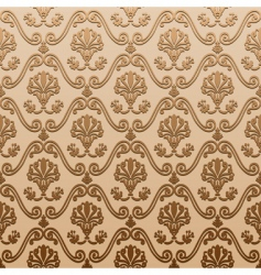 decorative vintage background vector image