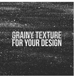 grain grunge texture like a dust or shalkboard vector image vector image