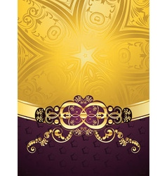 Purple Decorative Background6 vector image