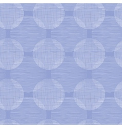 Purple textile circles seamless patter background vector image vector image
