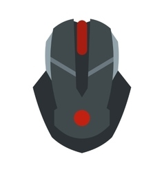 Gaming mouse icon flat style vector