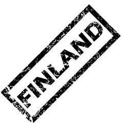 Finland stamp vector