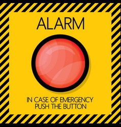 Alarm button vector