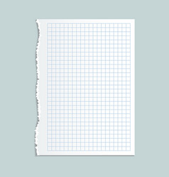 notebook paper concept background realistic style vector image vector image
