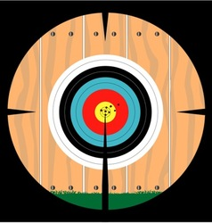 On Target vector image vector image