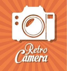 Photography and camera vintage design vector