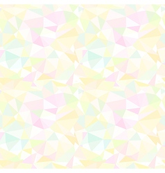 Abstract light background with colorful triangles vector