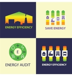 Energy efficiency diagram of growth of energy vector