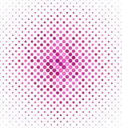 Pink color dot pattern background vector
