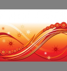 swirling abstract illustration design background vector image