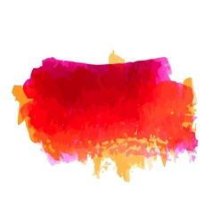 Watercolor blot vector image
