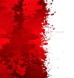 blood splat vector image