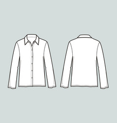Blouse vector