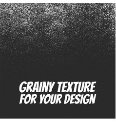 grainy dust or snow grunge texture vector image vector image