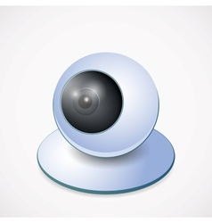 Web Camera vector image