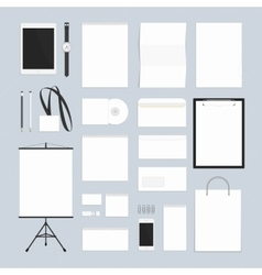 Blank corporate style vector image