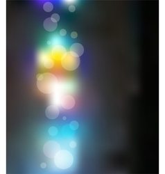Light Bokeh Merry Christmas Background vector image