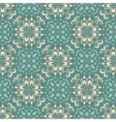 Damask seamless tiles design vector image vector image