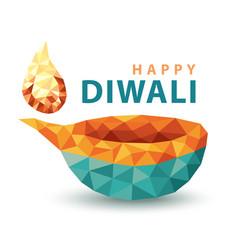 happy daliwi vector image