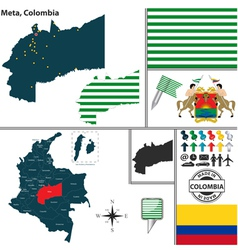 Map of meta vector