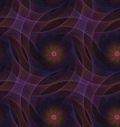 Seamless computer generated fractal pattern vector