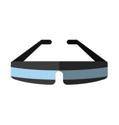 Smart glasses icon image vector